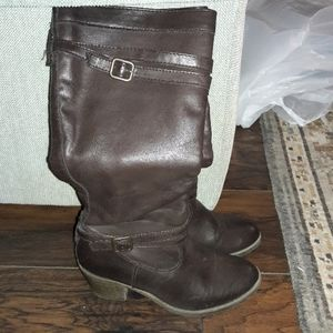 Womens sz 7.5 Sonoma brown tall boots